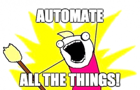 Logo: Automate All The Things!