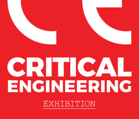 Logo: Critical Engineering Working Group - Kritično inženirstvo